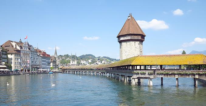 Vierwaldstatter See Mit Luzern Der Schonste See Der Schweiz